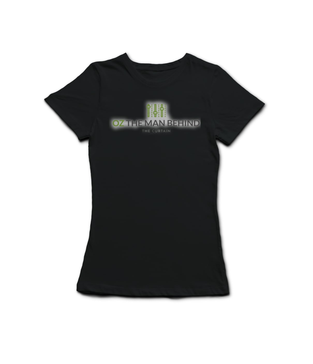 L t shirt black osaunc