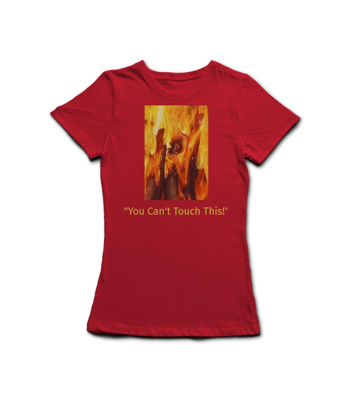 L t shirt red jomjry