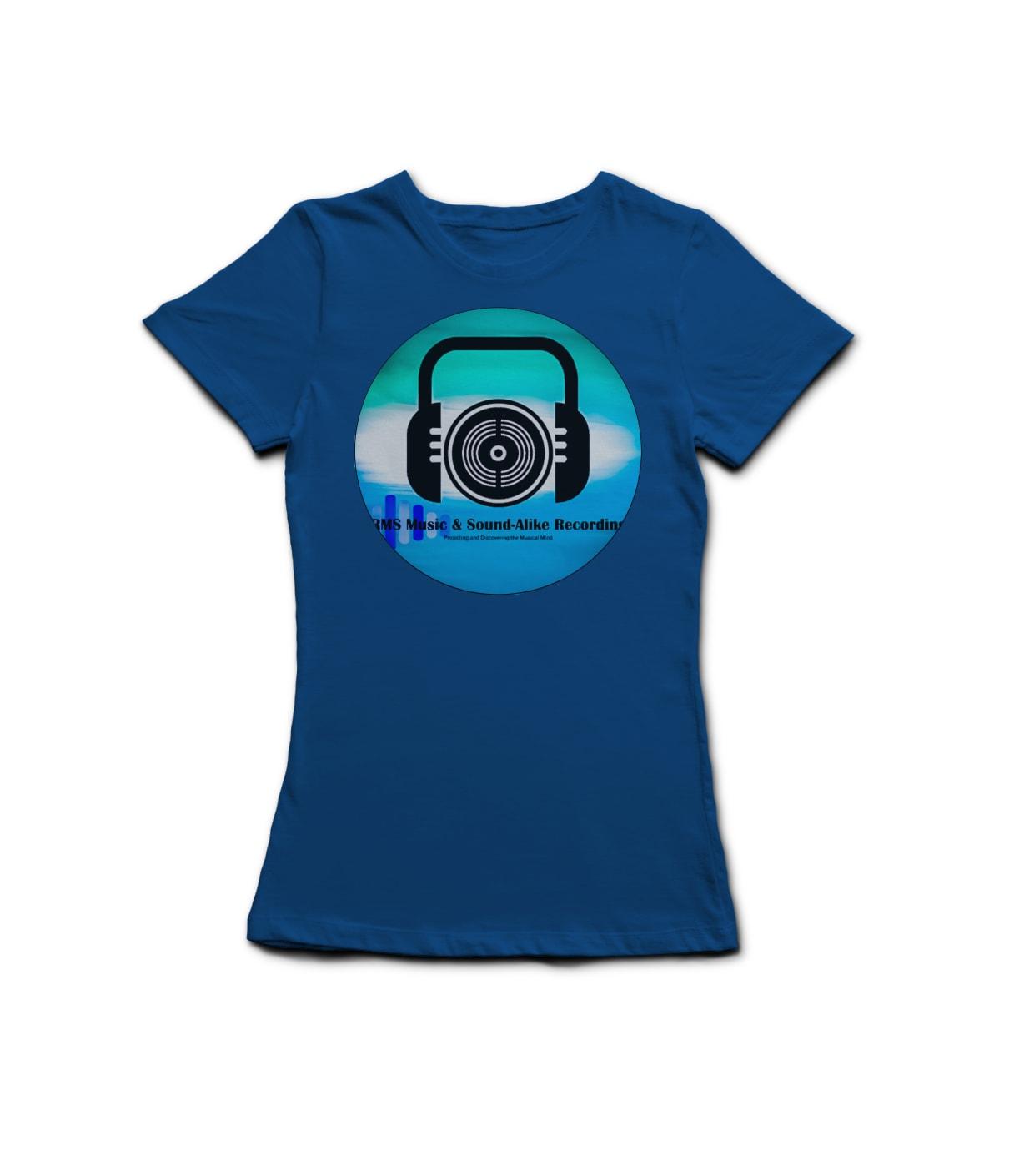 L t shirt blue ywizfm