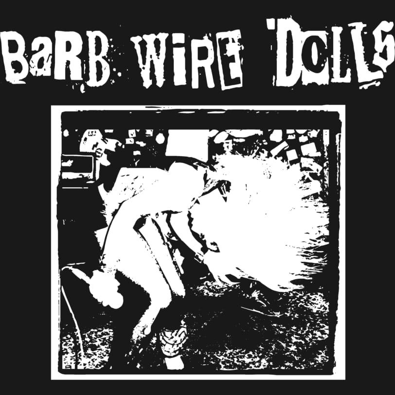 Barb wire dolls   official logo design j8tpoh