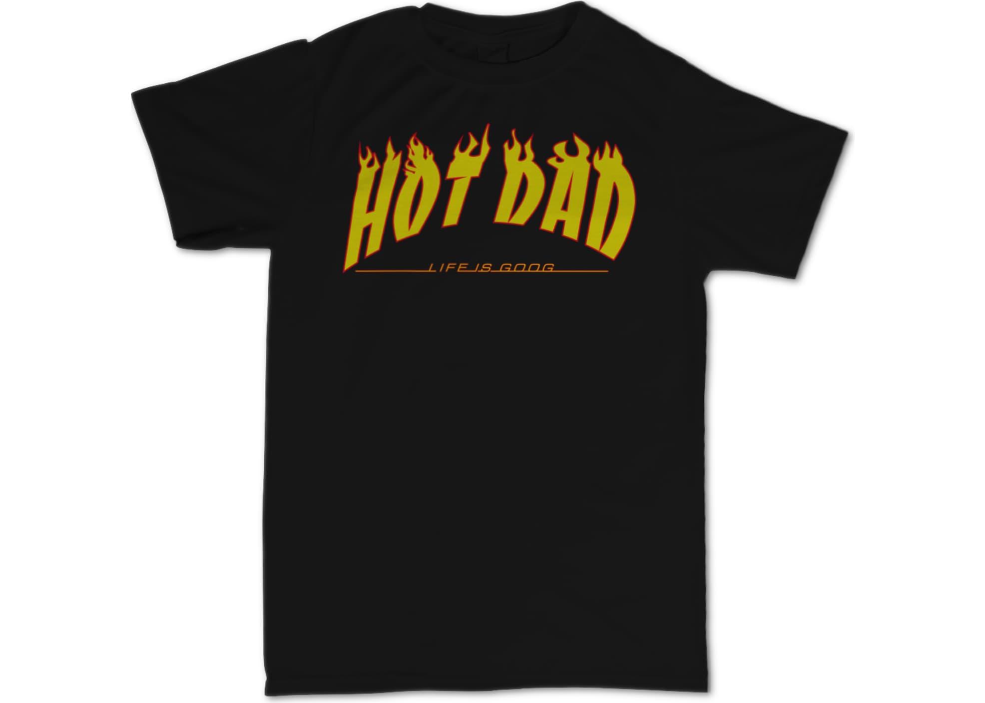 Hot dad thrash dad  black  1510525552