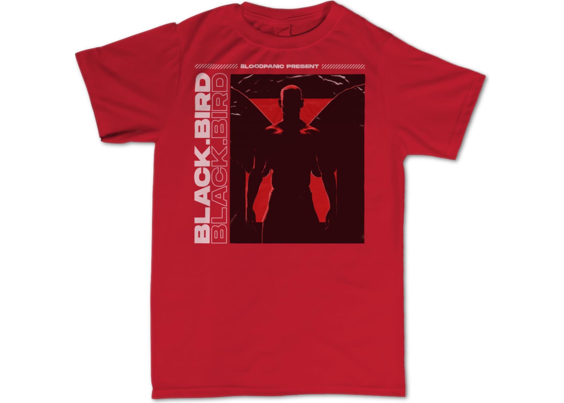 Bloodpanic black bird light   red 1622842458