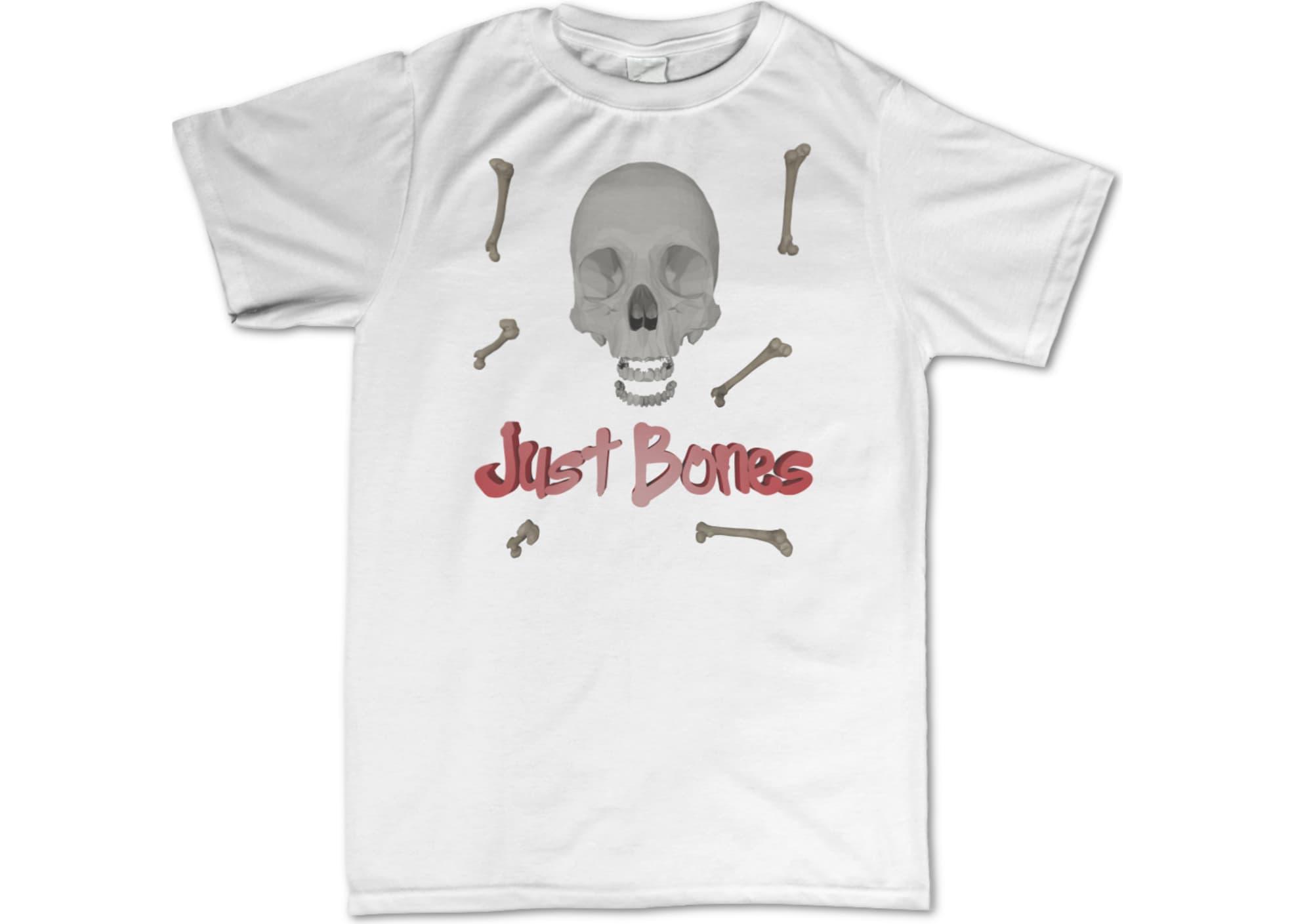Hot dad just bones  black  1489113935