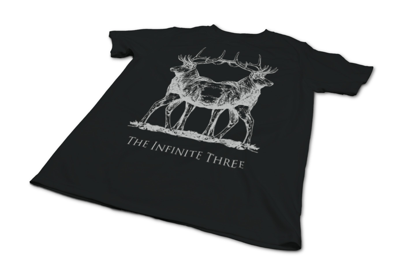 The infinite three winter solstice double stag t shirt 1558552149