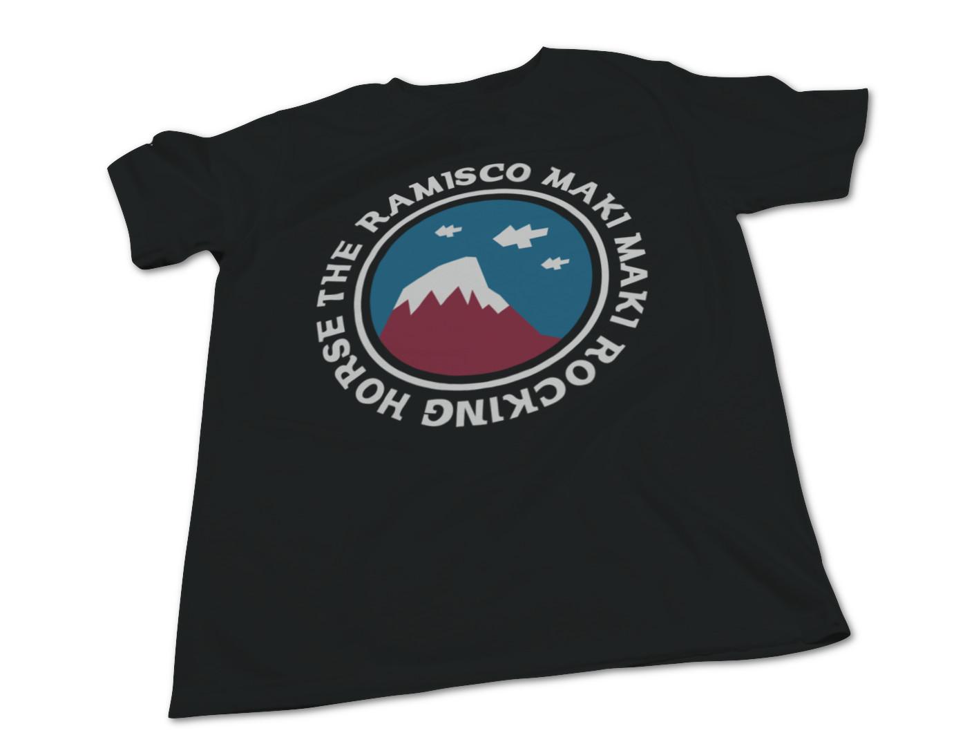 The ramisco maki maki rocking horse mountain tee sk8aha