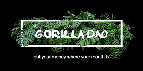 the Gorilla DAO is looking for you!