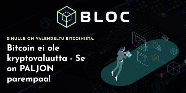 Bloc.fi - Ota Bitcoinin hyödyt käyttöösi!