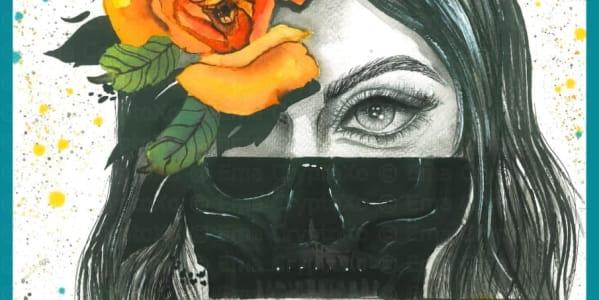 Bella Muerté - art by 🌟 Ema CryptoXo 💕