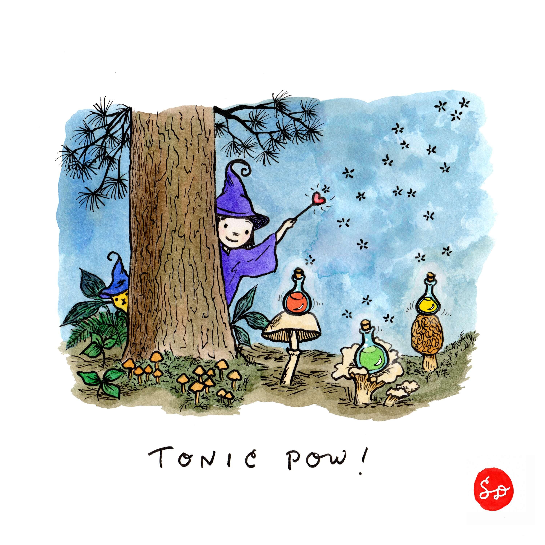 TonicPow Satoshi Doodle