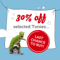 Just £9.99 for selected Tonies!