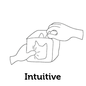 Facile à configurer et à utiliser