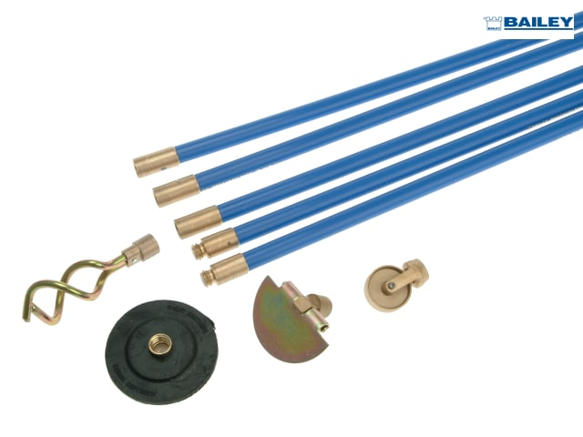 .toolbank.com | 1471 universal 3/4in drain cleaning set 4 tools