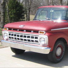 Ford truck from