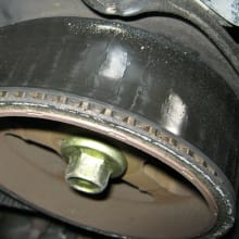Cracked Timing Belt