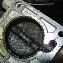 Dirty Throttle plate