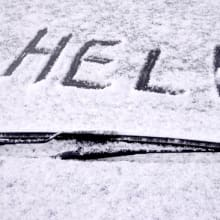 Winter driving help