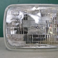 sealed beam headlights vs replacement bulbs
