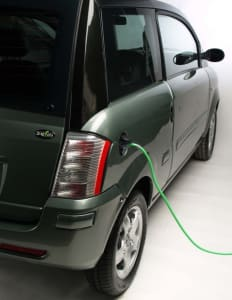 Electric Plugin Car