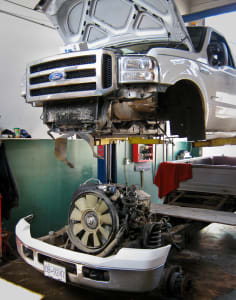 Ford Diesel Head Gasket Repairs