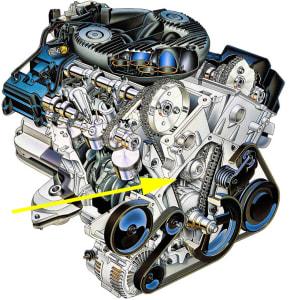 2.7 Chrysler engine
