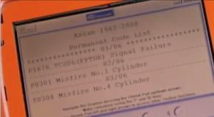 Diagnosis Computer Codes