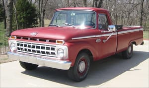 """Ford truck from """"the good old days"""""""