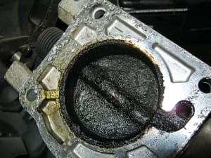 Dirty Throttle plate