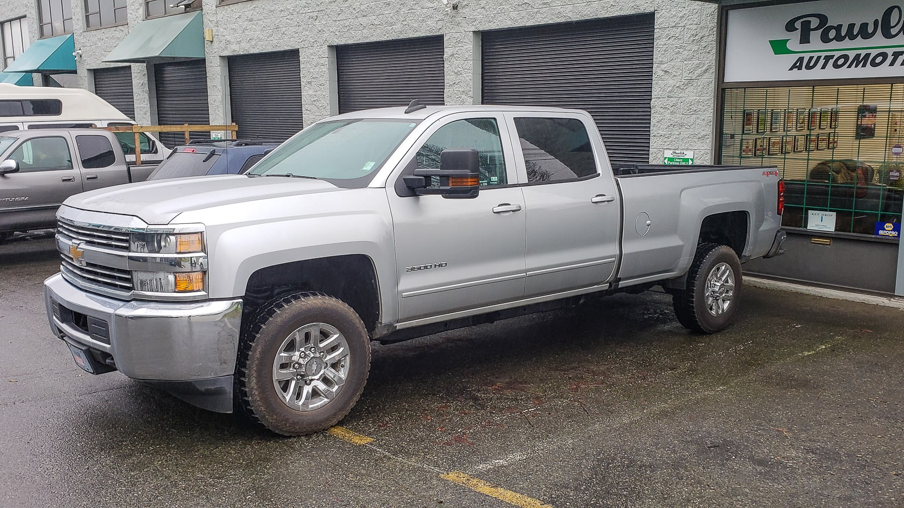 2017 Chevrolet 3500HD Pickup, Pre Purchase Inspection