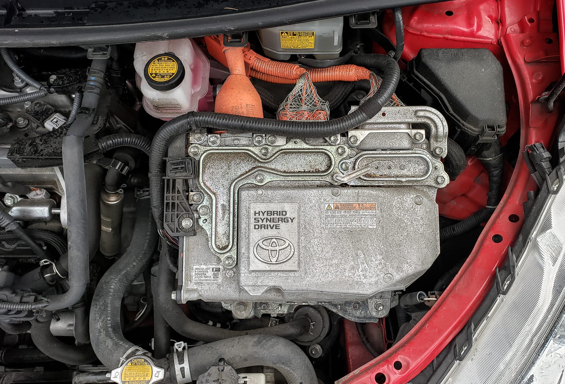 2012 Toyota Prius C Maintenance Service