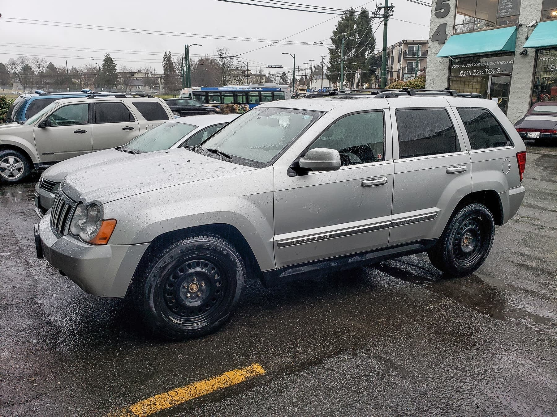 2007 Jeep Grand Cherokee, 3L Diesel, Fuel Tank Replacement
