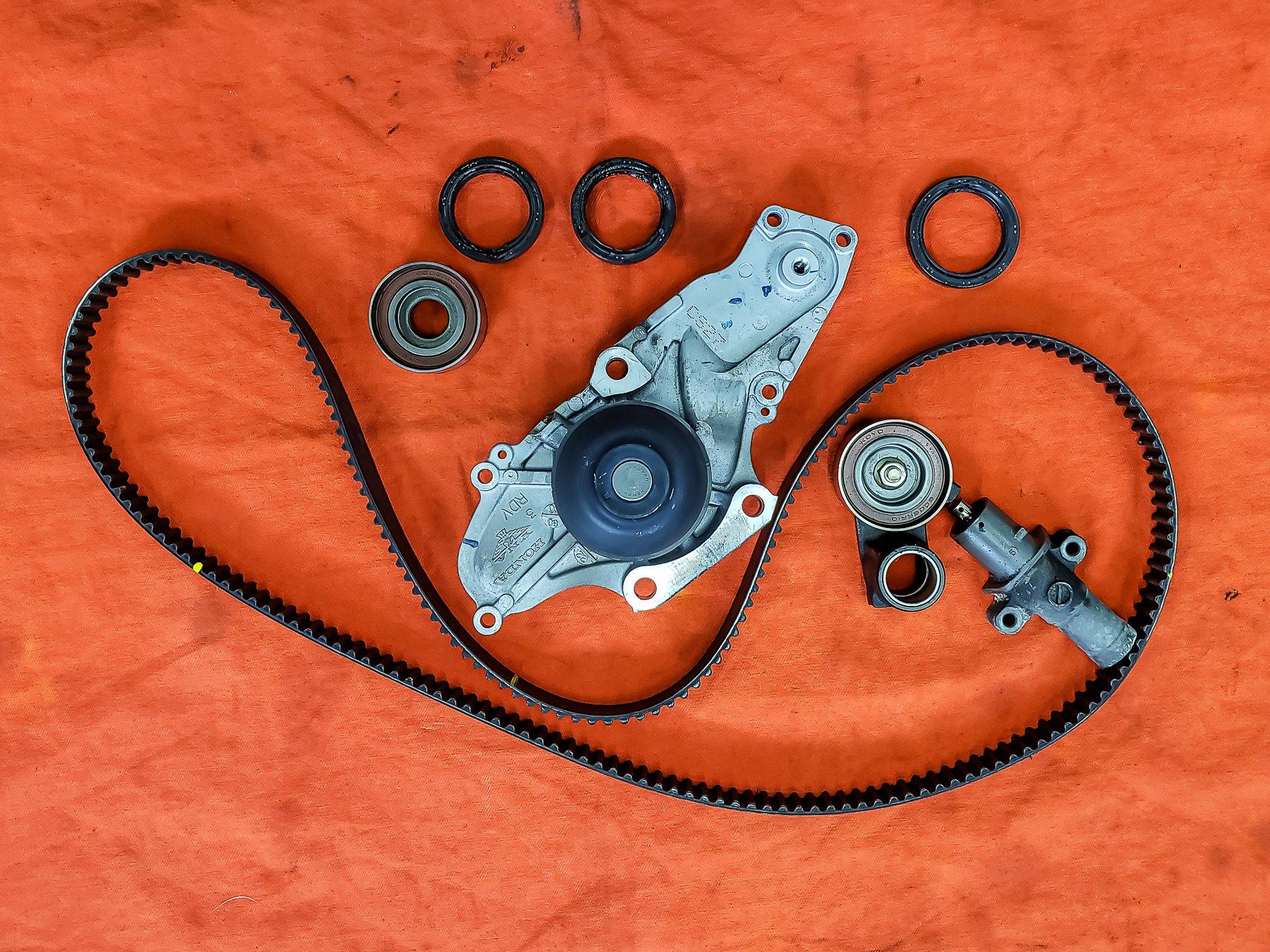 2006 Honda Ridgeline, Timing Belt Replacement