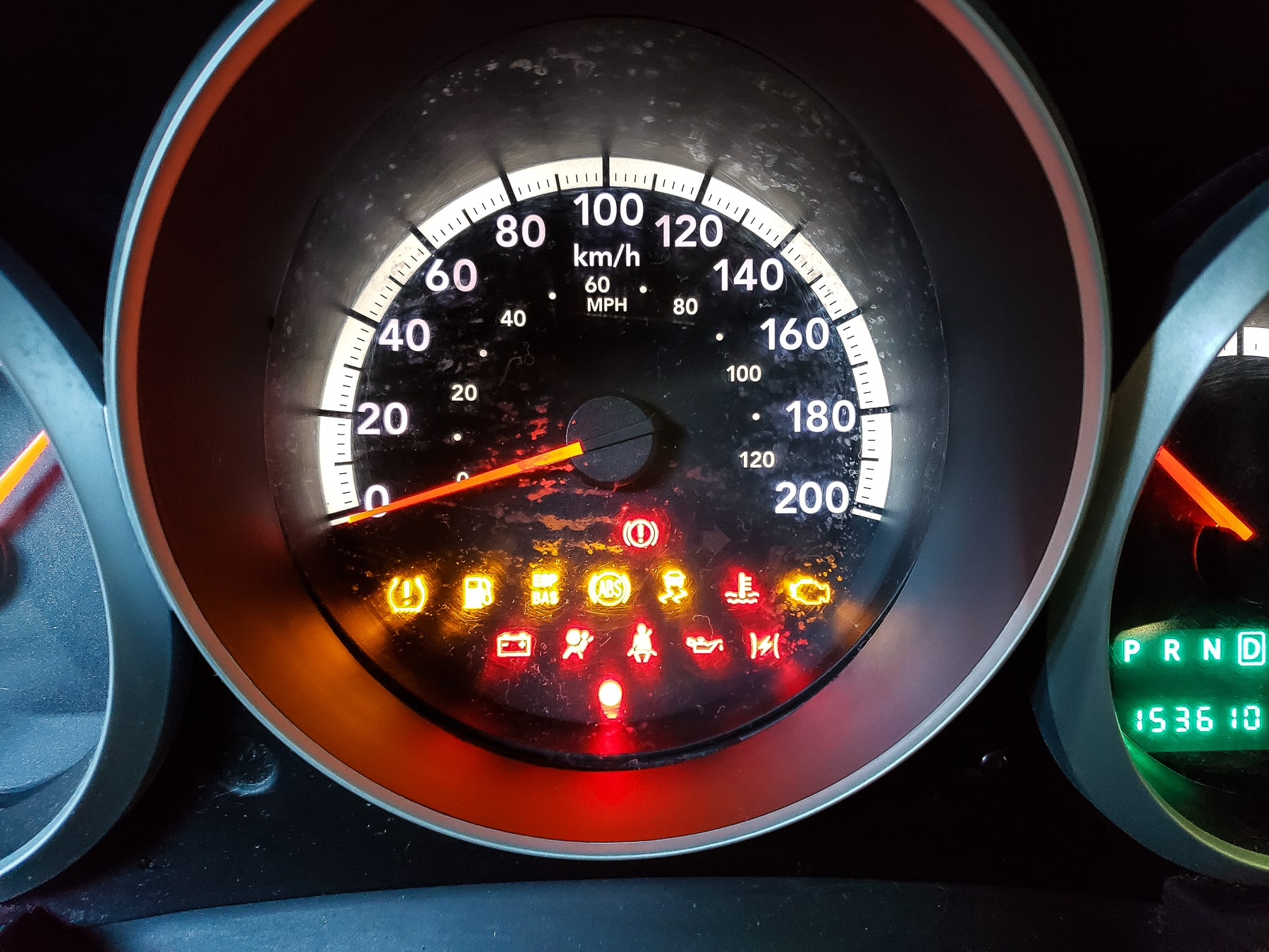 2008 Dodge Grand Caravan, Dash Lights Explained