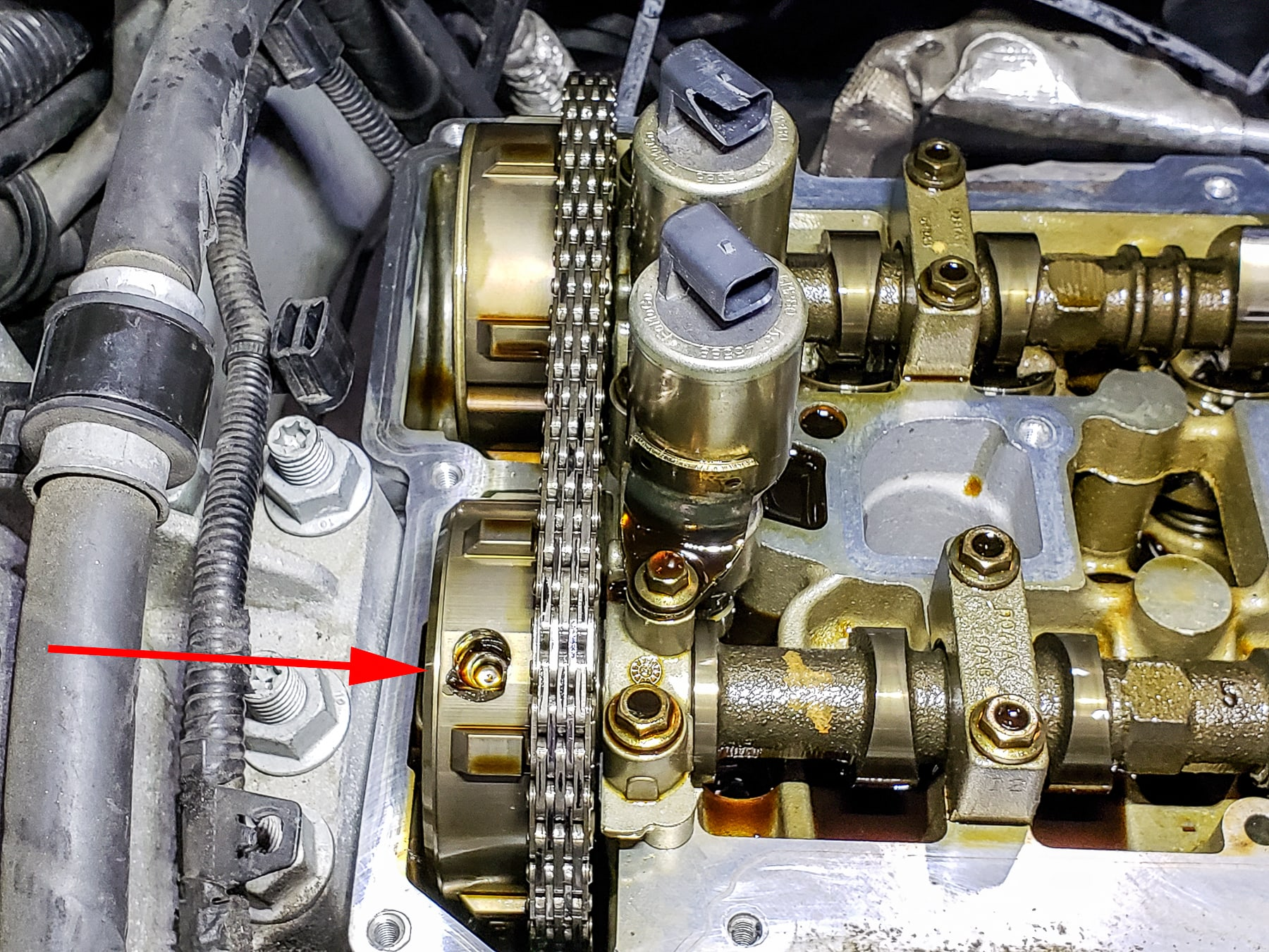 2013 Land Rover LR2 - Intake Camshaft Gear Replacement