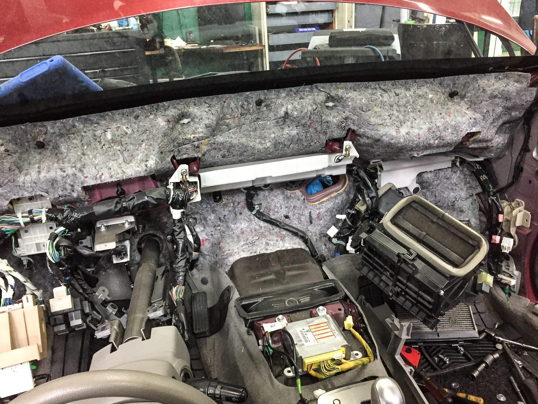 2008 Subaru Forester Heater Core Repair