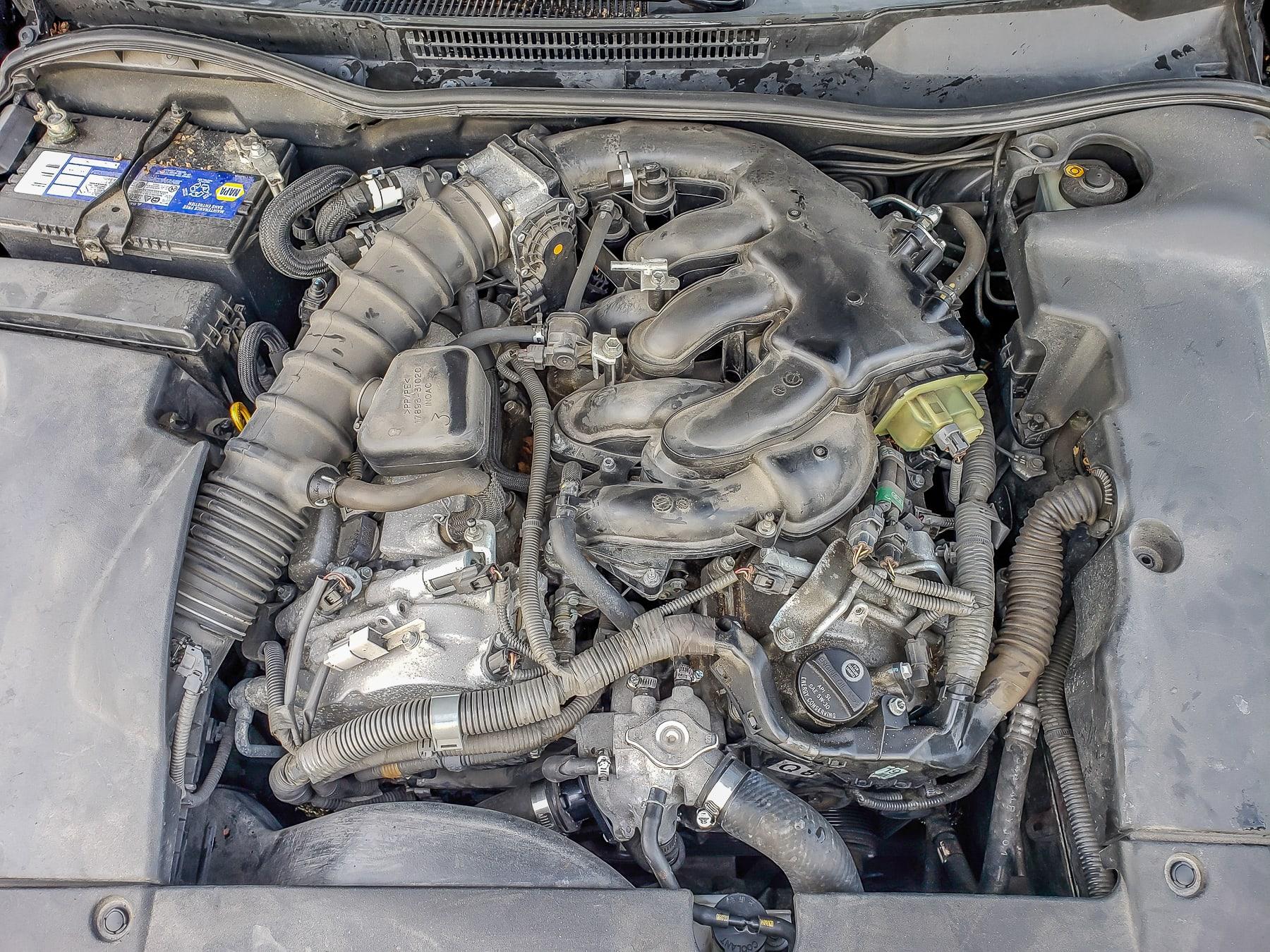 2008 Lexus IS250 Water Pump Replacement