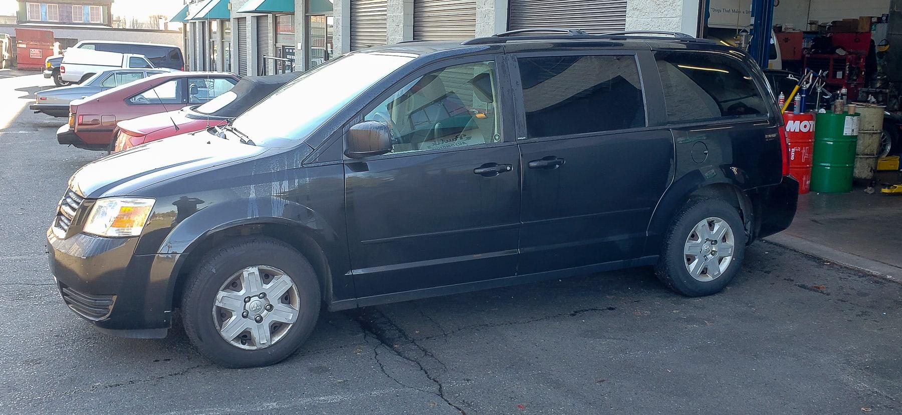 2008 Dodge Grand Caravan, Coolant Leak Repair