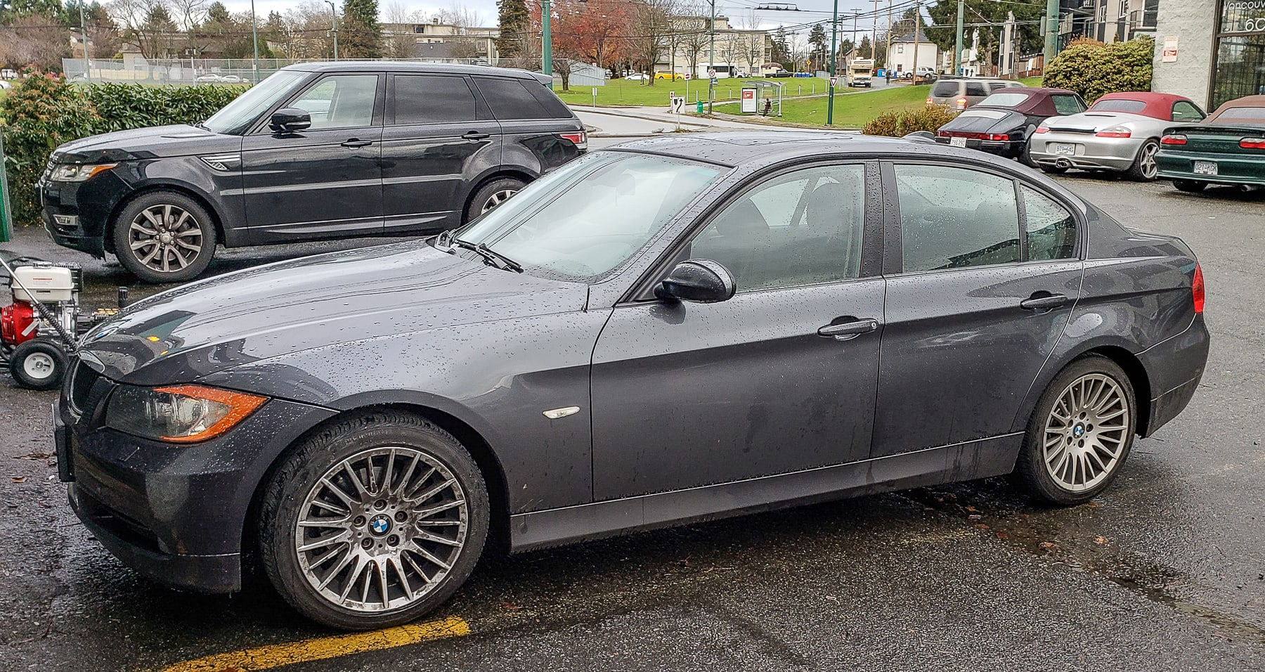 2008 BMW 328xi - Front End Clunk