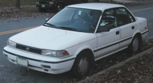 87 Toyota Corolla