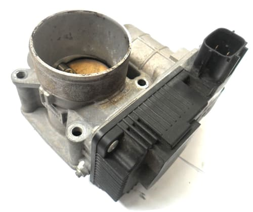 An electronic throttle body assembly found on all newer cars. This part can cost a couple thousand dollars on some cars. We want to be very certain that it is defective before we replace it,