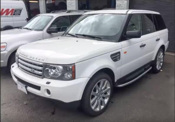 2006 Range Rover Sport Control Arm Bushing