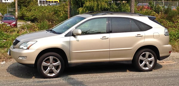 2004 Lexus RX330. These vehicles are built both in Japan and North America