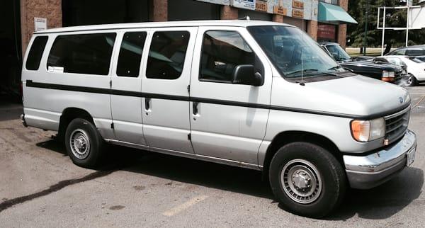 Ford E350 Van