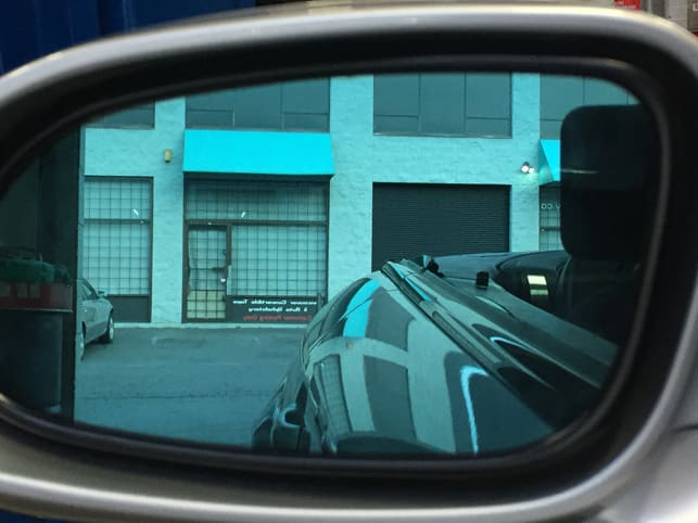 Mercedes SL500 Auto Dimming Mirrors