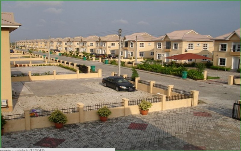 HOUSES FOR SALE AT NORTHERN FORESHORE ESTATE BY CHEVRON-DRIVE LEKKI LAGOS