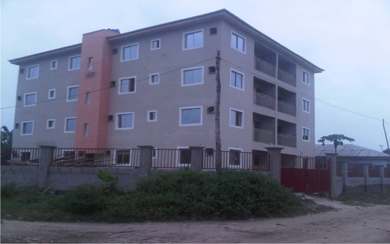 16 flats of 2 bedrooms on a plot of land at Igando, Ibeju-Lekki, for sale
