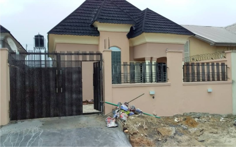 3 bedroom bungalow with boys quarter for sale, Ajah, Lagos