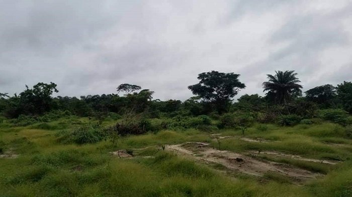 300 acres located at Oriba town, Eleranigbe off Lekki-Epe Expressway
