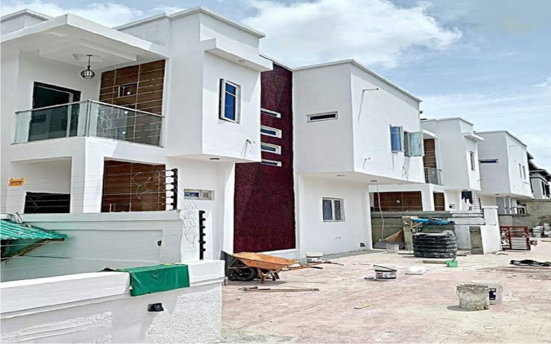 4 Bedrooms terrace duplex at Ikate, Lagos for sale