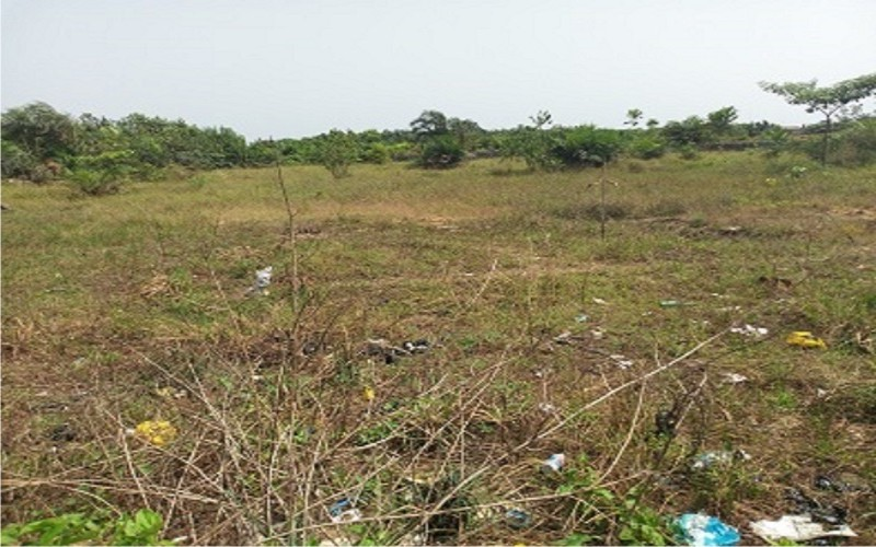 A plot of land is available for sale at Adeba, lakowe, Ibeju-Lekki, Lagos