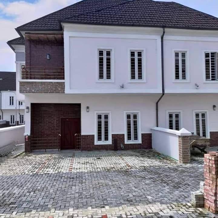 4 Bedrooms Semi-Detached Duplex at Ikota, Lagos for sale